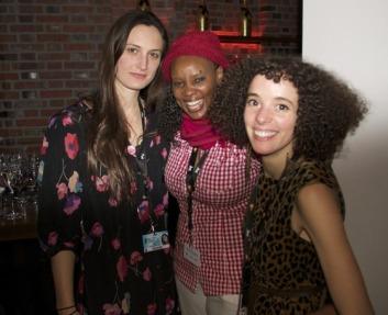 Katherine, Naome, and Malika at the World Premiere of Call Me Kuchu
