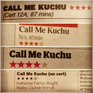 LONDON: Four star reviews all round for Call Me Kuchu's opening week in the UK