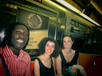 NEW YORK: Taking the subway to the New York premiere with Long Jones